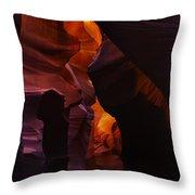 Antelope Canyon 25 Throw Pillow