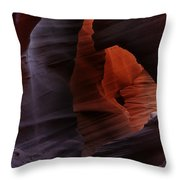 Antelope Canyon 27 Throw Pillow