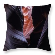 Antelope Canyon 5 Throw Pillow by Jeff Brunton