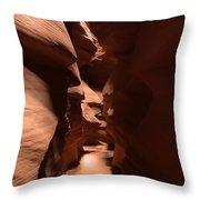 Antelope Canyon 7 Throw Pillow