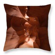 Antelope Canyon 9 Throw Pillow