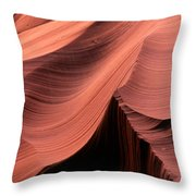 Antelope Canyon IIi Throw Pillow