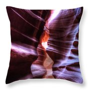 Antelope Canyon Throw Pillow