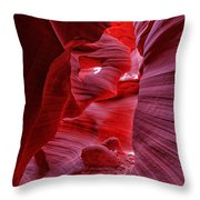 Antelope Canyon Mummy 2 Throw Pillow