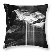 Antelope Canyon Sand Fall Throw Pillow