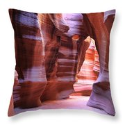 Antelope Canyon1 Throw Pillow