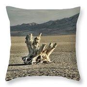 Antelope Island Stump Throw Pillow