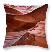 Antelopescape Throw Pillow