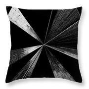 Antenna- Black And White  Throw Pillow