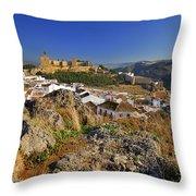 Antequera Alcazaba Throw Pillow