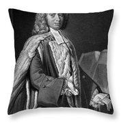 Anthony Askew (1722-1774) Throw Pillow
