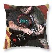 Anthrax Throw Pillow