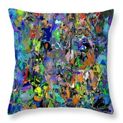 Anthyropolitic 1 Throw Pillow