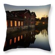 Antica Filanda Frette Throw Pillow