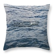 Anticapation Of The Unknown Throw Pillow