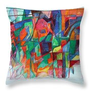 Birth-pangs Of Redemption 1 Throw Pillow