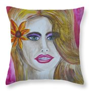 Anticipation Throw Pillow