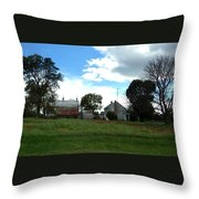 Antietam Battlefield Throw Pillow