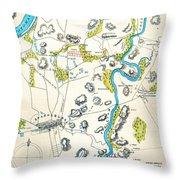 Antietam, Maryland, 1862 Throw Pillow