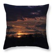 Antietam Sunset Throw Pillow