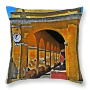 Antigua Arches Throw Pillow