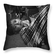Antigua Child Throw Pillow