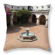 Antigua Ruins Xi Throw Pillow