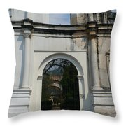 Antigua Ruins Xxi Throw Pillow