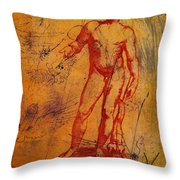 Antinous II Throw Pillow