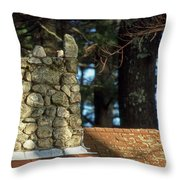 Antique Chimney Throw Pillow