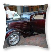 Antique Coupe Throw Pillow