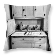 Antique Cupboard Throw Pillow