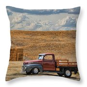 Antique Ford Truck Throw Pillow