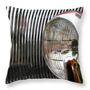 Antique Grill Throw Pillow