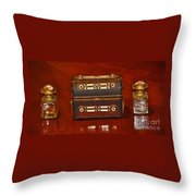 Antique Inkwell 2 Throw Pillow