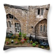 Antique London Throw Pillow