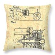 Antique Massey-ferguson Tractor Patent 1935 Throw Pillow