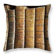 Antique Medical Books Throw Pillow