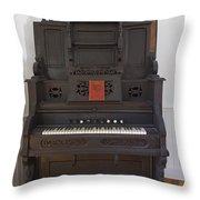 Antique Organ Throw Pillow