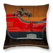 Antique Pedal Car 2 Throw Pillow