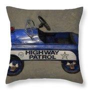 Antique Pedal Car V Throw Pillow by Michelle Calkins