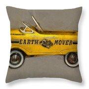 Antique Pedal Car Vl Throw Pillow by Michelle Calkins