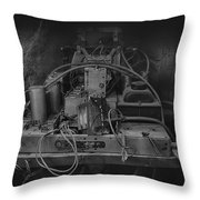 Antique Philco Radio Model 37 116 Bw Throw Pillow
