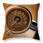 Antique Sonora Record Player Throw Pillow