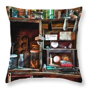 Antique Things Throw Pillow