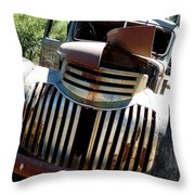 Antique Chevy Truck Throw Pillow