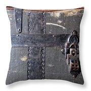 Antique Trunks 4 Throw Pillow