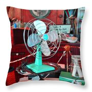 Antiqued Office Throw Pillow