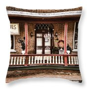 Antiques Bought And Sold Throw Pillow