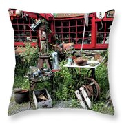 Antiques For Sale Throw Pillow